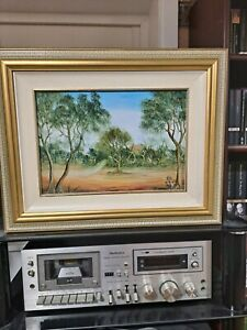 "Julie Hart, Original Oil Painting - ""Bushranger's Hideaway"""
