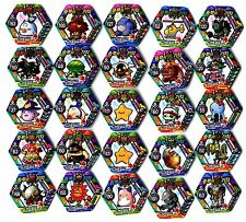 POGS - V-MS-HEX 25 015 Lot de 25 Pogs MAPLESTORY MAPLE STORY HEXAGONAUX Neufs