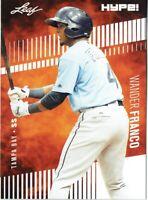Wander Franco 2018 Leaf HYPE! Baseball Rookie 25 Card Lot Tampa Bay Rays #2