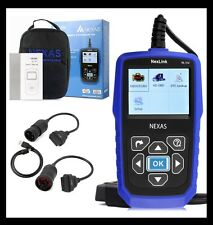 HEAVY DUTY TRUCK & CAR OBD2 DIAGNOSTIC HD CODE READER DIESEL SCANNER NEXAS NL102