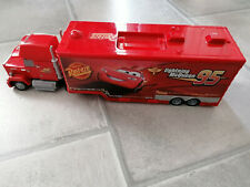 Disney Cars Spiel Set Mattel Mack Truck Fahrzeug Auto Transporter LKW PKW