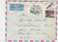 sweden 1963 stamps cover ref 19580