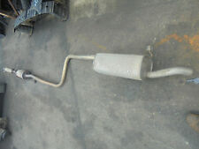 FORD FIESTA 03 TO 08 FUSION 03 TO 12 1600 PETROL EXHAUST SYSTEM PIPE AND BOX