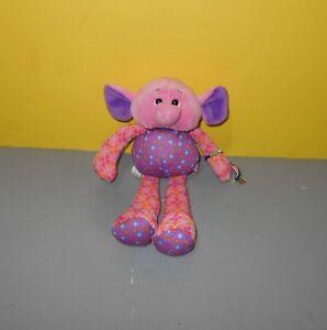 """Ganz Nakamas Friendship Bracelet 10"""" Elephant - Savannah Bean Stuffed Plush"""