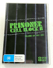 PRISONER CELL BLOCK H VOLUME 4 Episodes 097-128 NEW 8-DVD SET REGION 4 oz seller