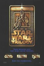 Star Wars Trilogy Original S/S Advance Rolled Movie Poster 27x40 NEW 1996 Lucas