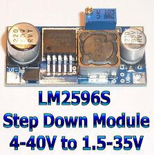 Module LM2596S Step Down Abaisseur de Tension Ajustable DC DC Adjustable Power