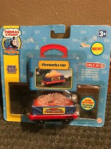 Take Along Thomas Fireworks Car with Lights & Sounds