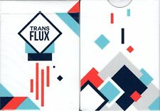 Transflux v2 Playing Cards Poker Size Deck USPCC Custom Limited New Sealed