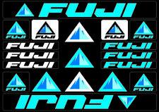 Fuji Bicycle Bike Frame Decals Stickers Adhesive Graphic Set Vinyl Blue
