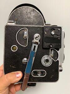 Vintage Antique Bolex H16 Standard 16mm Movie Camera Cine Filmo