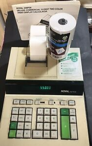 Vintage Royal 248PD11 Print/Display Commercial Calculator