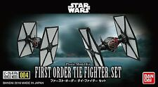 Bandai Vehicle Model 004 Star Wars First Order Tie Fighter Model Assembly need