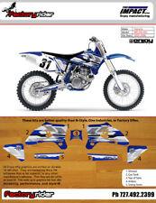Impact Yamaha Motocross Graphics WR 450/250  2005-06 Dirt Bike Graphics KIT