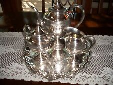Antique Wedgewood Sterling Silver Tea Service