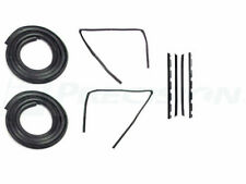 88-99 Chevy Truck Door Gaskets & Beltline Molding Channel Weatherstrip Seal Kit