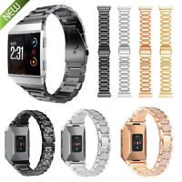 For Fitbit Ionic Metal Watch Strap Bands Bracelet Bling with Rhinestone