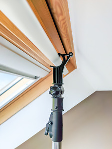 2M DESIGNED FOR VELUX TELESCOPIC OPENING POLE FOR ROOF WINDOW & BLINDS 1.2-2M