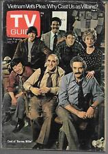 TV GUIDE JULY 19-25 1975 (VG) BARNEY MILLER, HAL LINDEN, ABE VIGODA, MAX GAIL