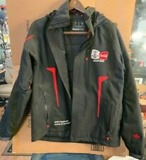 2010 Vancouver Olympics Coca Cola Recycled Bottle Insulated Black Jacket M