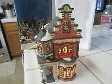 O'Well Lighted House Bookstore 1997 Christmas Village Building Limited Edition