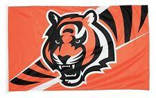 Cincinnati Bengals 3x5 House Flag [New] Nfl Banner Sign Fan Wall Man Cave