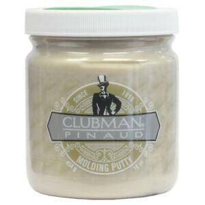 Clubman Pinaud Molding Hair Putty 454g (16 oz) Matte Firm Hold - Jumbo size
