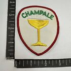Vtg CHAMPALE BEER Advertising Patch 94K8