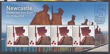 Australia 2018 Newcastle Stamp & Coin Expo Mini Sheet