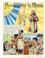 Bible Stories in Pictures #43 Part 2    January 9 1955     Benjamin is Born