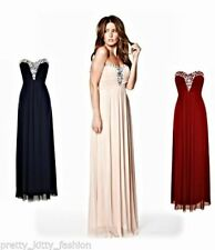 Nazz Collection Chiffon Sleeveless Maxi Dresses for Women