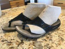 Mephisto Agacia Sandals Flip Flip Shoes Size 38 Black