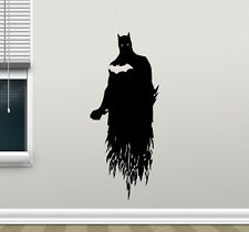 Batman Wall Decal Arkham Comics Kids Vinyl Sticker Superhero Poster Mural 171zzz