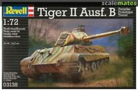 Revell 03138 Pz.Kpfw. VI KingTiger Ausf. B Porsche Prototype Turret scale 1/72