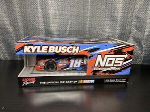 Kyle Busch Nos Energy NIB 2016 1:24 Die cast Car Lionel Racing #18 NASCAR