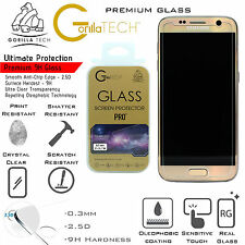 Twin Pack Genuine Gorilla Tempered Glass Screen Protector For Samsung Galaxy S7