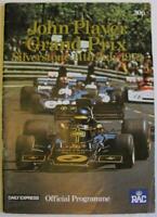 BRITISH GRAND PRIX 1973 FORMULA ONE SILVERSTONE F1 Official Race Programme LF