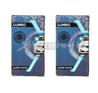 H7 100W 5000K Xenon HID Super White Effect Look Headlight Lamps Light Bulbs