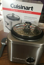 Cuisinart CRC-400 Stainless Steel 4-cup Rice Cooker Silver