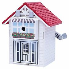 CARL Pencil sharpener Carl's house Red CMS-210-R Free Ship w/Tracking# New Japan