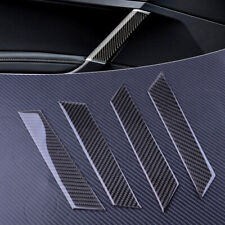 Kit Carbon Fiber Interior Door Handle Cover Trim fit for VW Golf MK7 MK7.5 2018