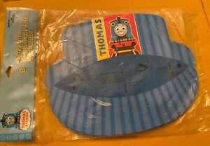NEW SEALED Vintage 2004 Thomas & Friends 8 Hallmark Birthday Party Hats