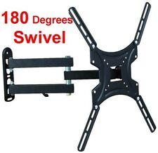 "TV WALL MOUNT 32 - 47""  FULL MOTION TILT SWIVEL 180° LED LCD FLAT SCREEN"