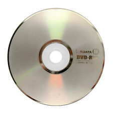 5-Pak Ritek/Ridata DVD-RW 6X Logo Top DVD-RW Media In Paper Sleeves