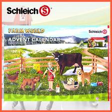 SCHLEICH FARM WORLD ADVENT CALENDAR CHRISTMAS EXCLUSIVE ANIMALS 97335