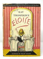Kay Thompson - Eloise - 1st 1st w/ First STATED - HCDJ 1955 - First In Series