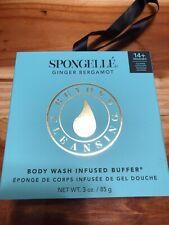 Spongelle Ginger Bergamot Body Buffer Flower BathSponge Free Ship Special Offer