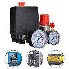 240V/175psi Pump Pressure Air Compressor Control Switch Regulator*Valve Gauge