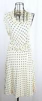 Max Mara Abito Asymmetrical Bodice Wrap Sheath Dress Sz 42 New Without Tags Flaw