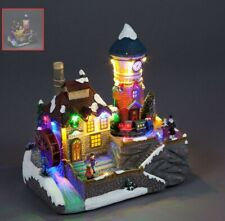 B/O 24cm LED Christmas Village